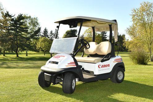 Golf Cart, weiß