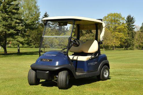 Golf Cart, blau
